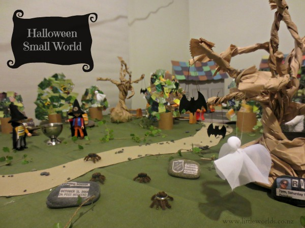 Halloween Small World Image