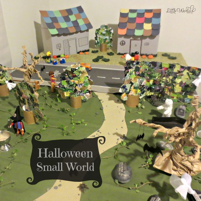 Halloween Small World