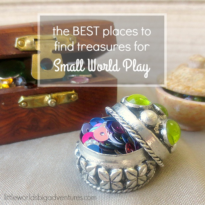 4 places to find Small World Play treasures