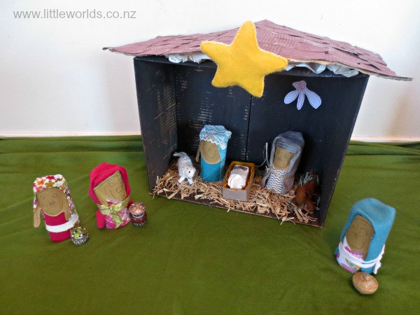 Image finished nativity scene