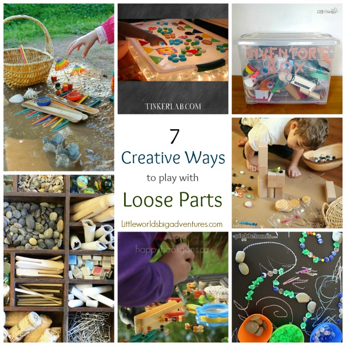 Clever And Creative Ideas For The Ultimate Playroom: 7 Creative Ways To Play With Loose Parts