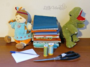 Mommy Project: Sewing a Tooth Fairy Pocket onto a Soft Toy