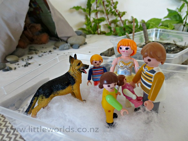 """""""We're going on a Bear Hunt"""" Small World Sensory Play"""