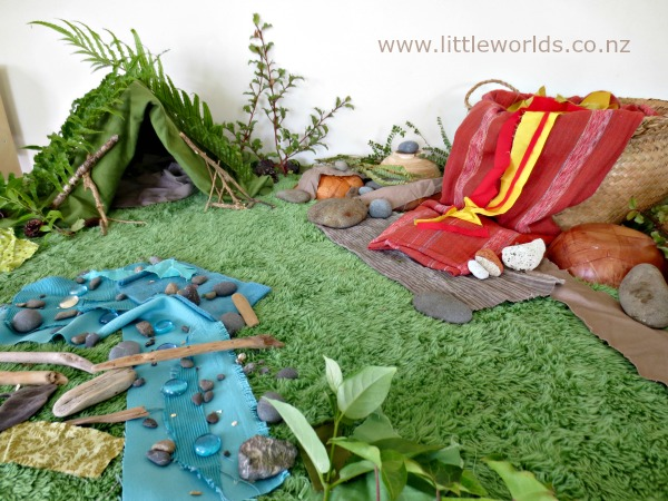 Imaginative Play: Setting up a Dinosaur Small World
