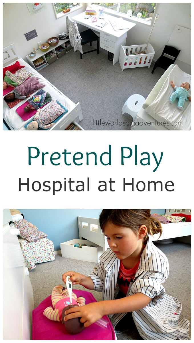 Make a Pretend Play Hospital at Home!