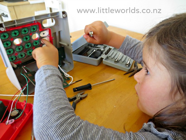 Tinkering Activity: Taking Apart an Old Toy