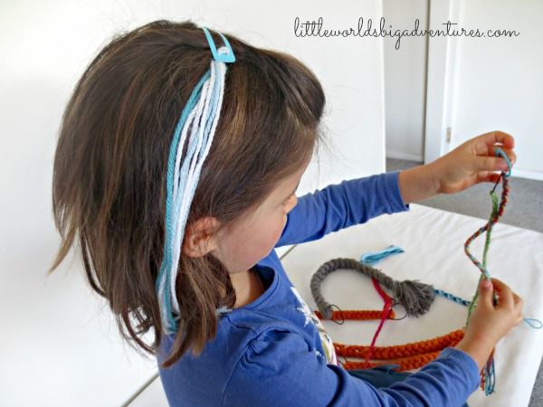 DIY Princess Dress Up Braid, Make One or Make Them All!