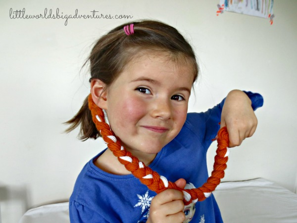 Easy DIY Princess Dress Up Braid Tutorial