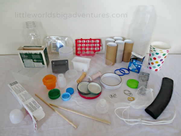 Upcycled Inventor's Box, a DIY STEM Activity