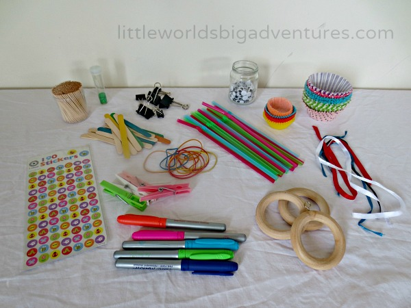 Upcycled Inventor S Box A Diy Stem Activity Little Worlds