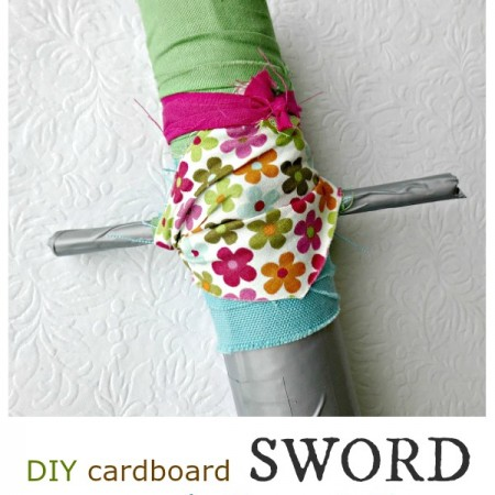 how to make a sword at home easy