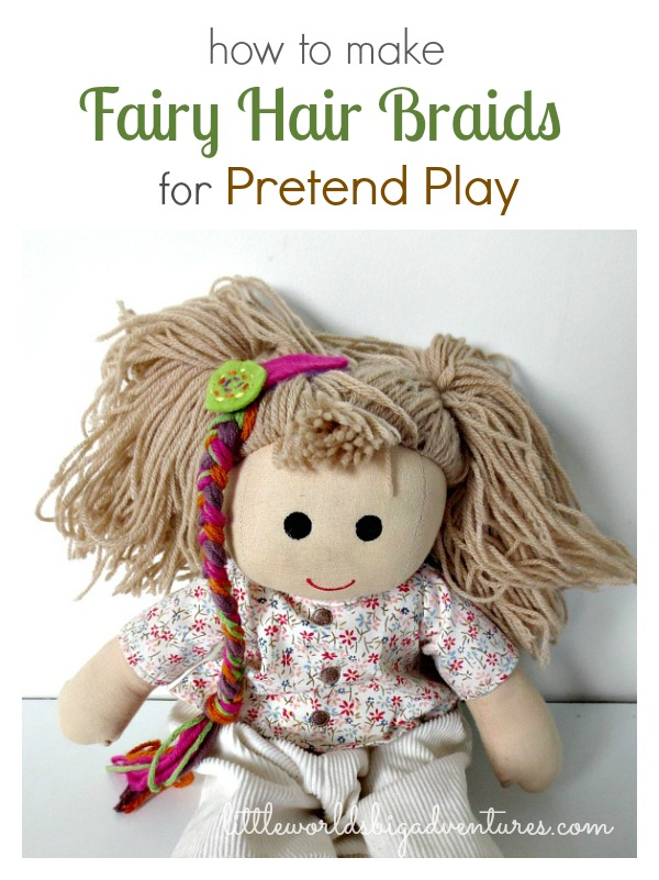 How to Make Fairy Hair Braids for Pretend Play
