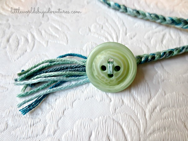How to make braided bookmarks you won't lose!