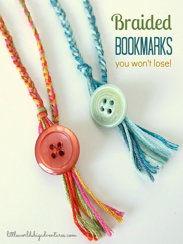 How to Make Braided Bookmarks