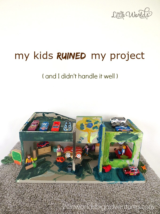 How my Kids ruined my Craft Project