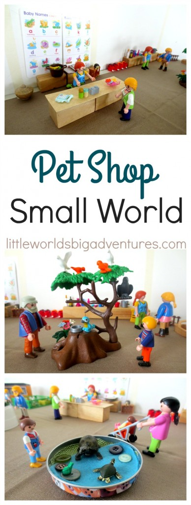 Pet Shop Small World Play
