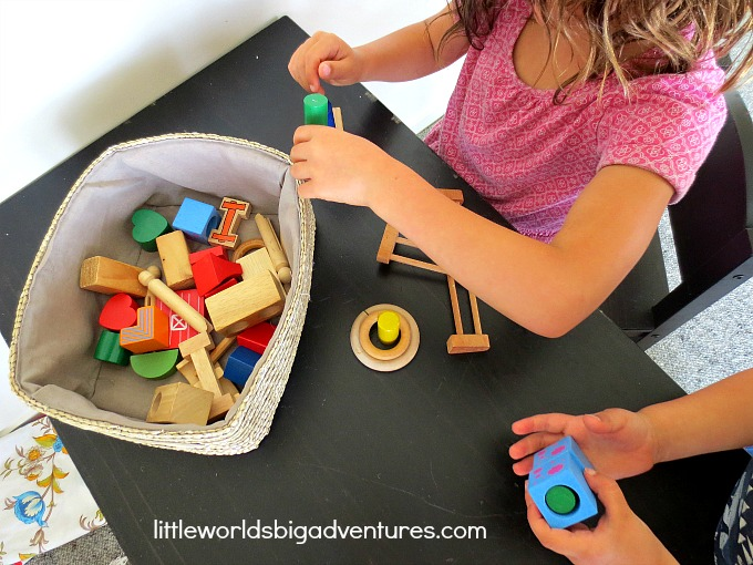 Using Loose Parts to Make Pretend Play Cookies