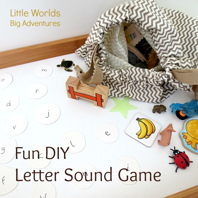 Fun DIY Letter Sound Game