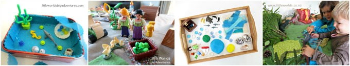 4 Creative Ways to Use Fabric Scraps in Small World Play