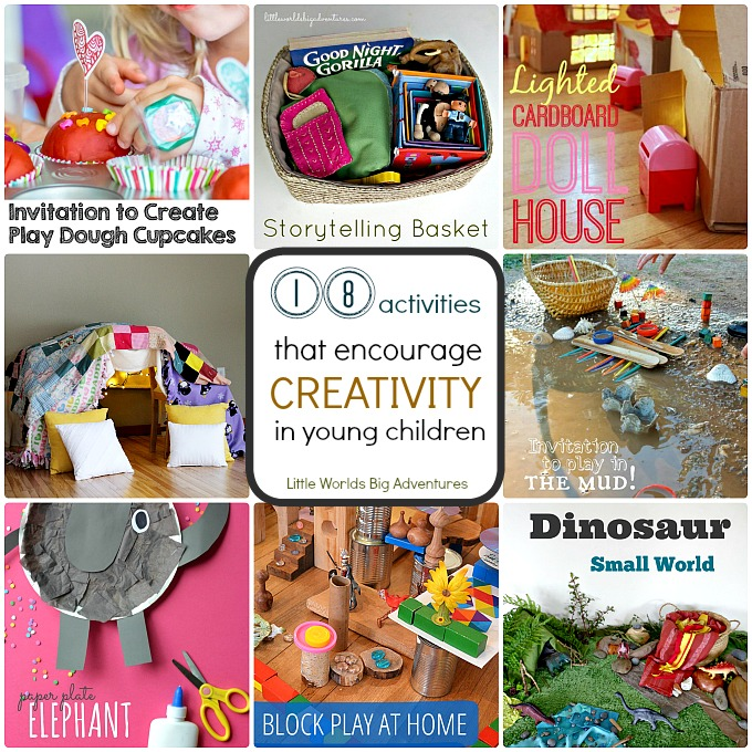 18 Activities that Encourage Creativity in Young Children