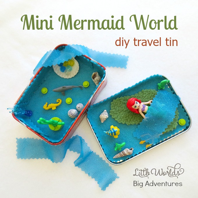 How to Make a Mermaid Travel Tin