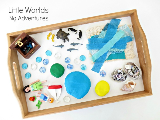 Invitation to Create a Mini Ocean World