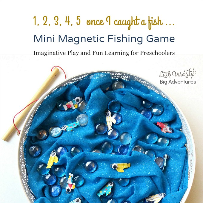 Mini Magnetic Fishing Game for Pretend Play & Fun Learning