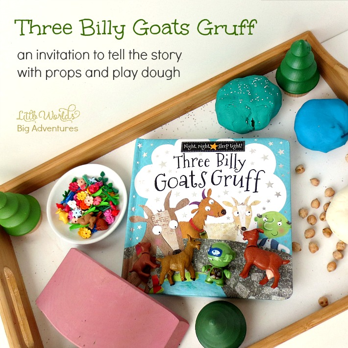 Three Billy Goats Gruff Invitation to Play