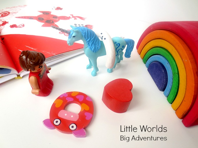 How to Put together a My Color is Rainbow Story Basket