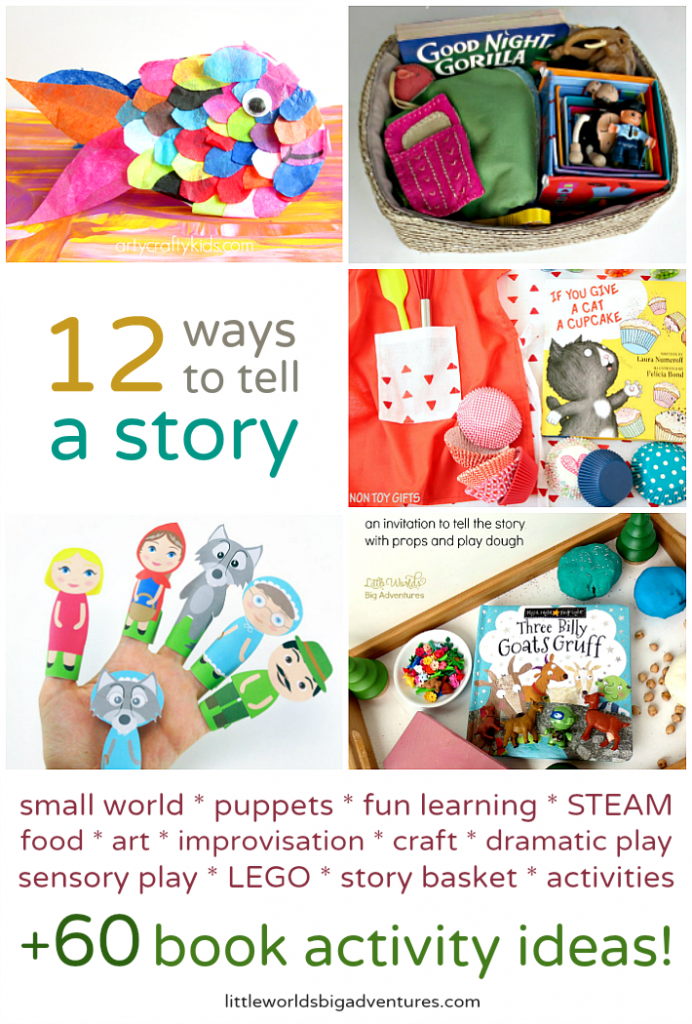 12 Ways to Tell a Story (and over 60 book activity ideas!)