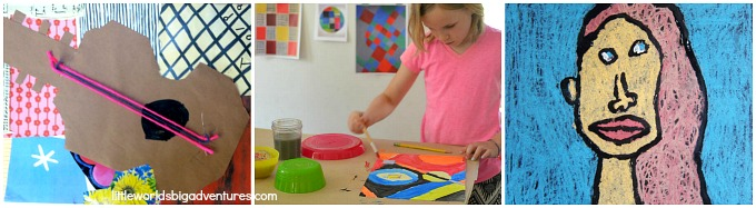 Modern & Contemporary Artist inspired Art Projects for Kids