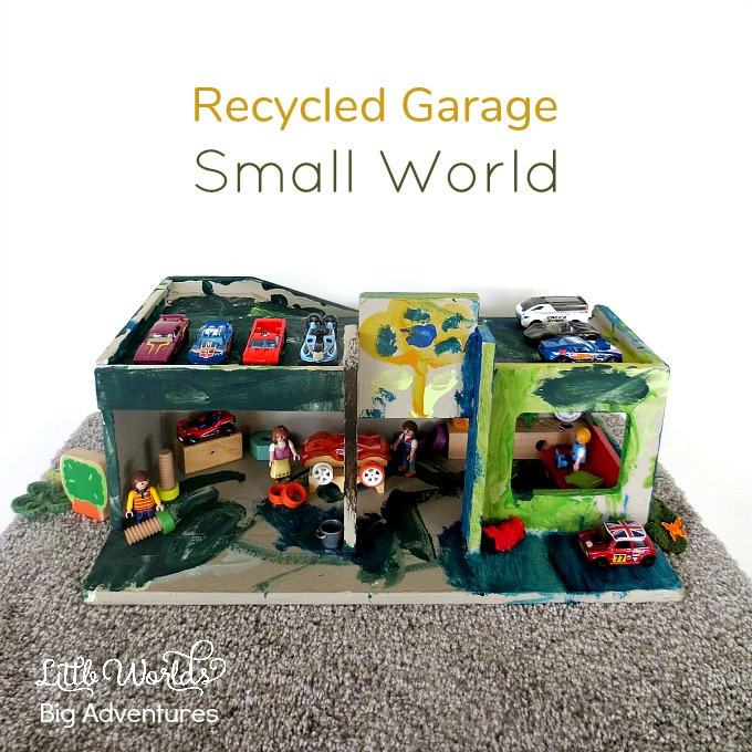 Recycled Garage Small World