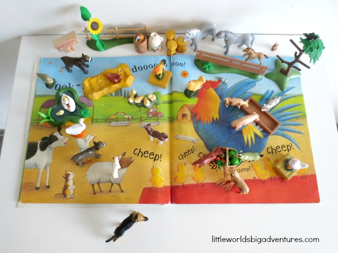 The Noisy Noisy Farm Story Basket