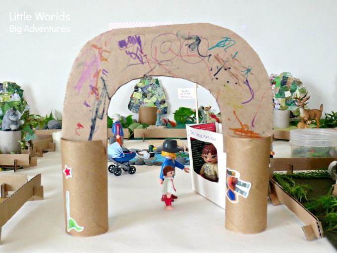 How to Create a Small World Zoo from Recycled Materials