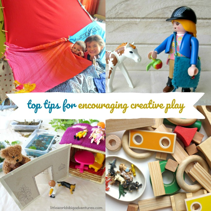 Top Tips for Encouraging Creative Play