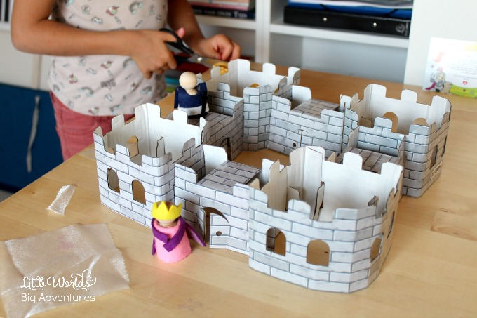 Medieval Themed Play, a Kid Wonder Box Review