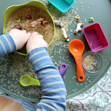 Simple Farm Sensory Play for Toddlers and Preschoolers