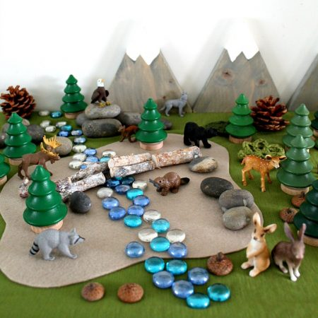 Woodland Small World Playscape