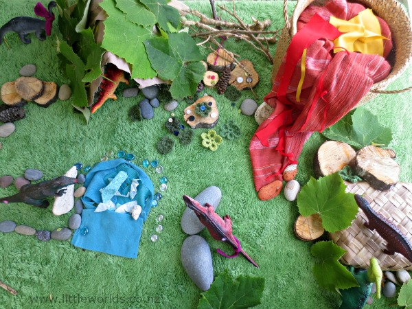Playing with Loose Parts at Home: small world