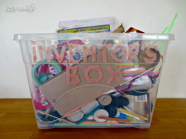 Top Tips for organising an Inventor's Box Play Date for Preschoolers