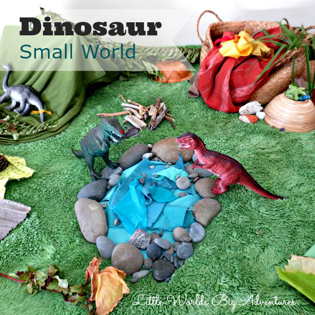 Imaginative Play: Dinosaur Small World
