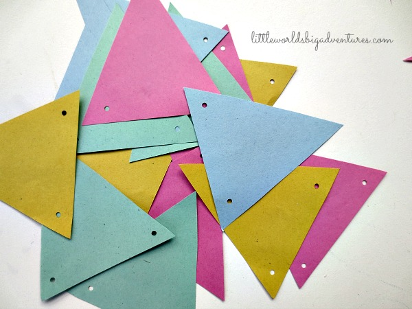 How To Make A Last Minute Paper Bunting