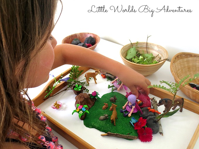 Invitation to Create a Play Dough Fairy World