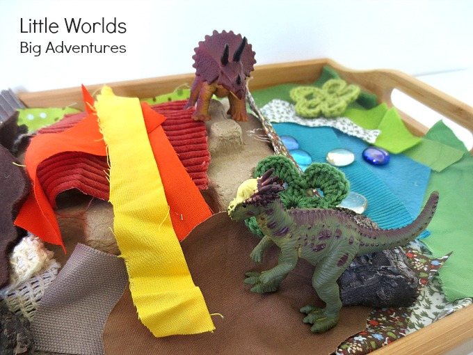 Invitation to Create a Mini Dinosaur World