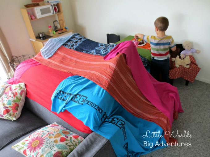 A 3 Year Old's Guide to Epic Blanket Fort Building