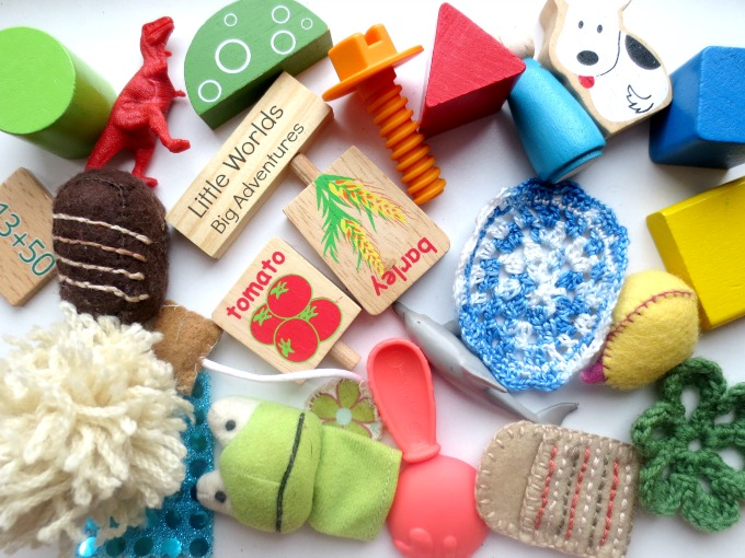 Heuristic Play Toy Posting, a Fine Motor Game for Babies