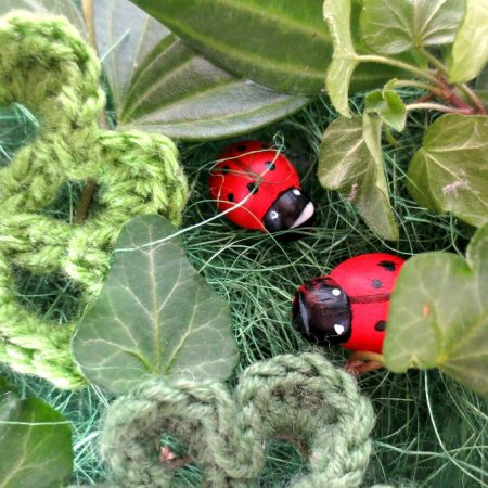 How to Set up a Simple Ladybug Sensory Tray