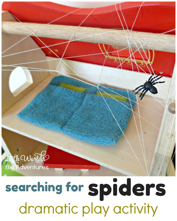 Searching for Spiders Dramatic Play Activity