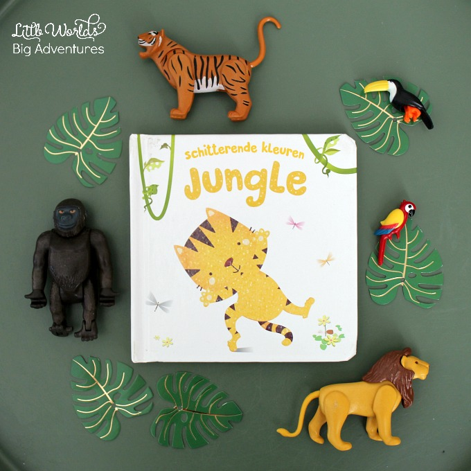 Jungle Book Story Basket for Toddlers